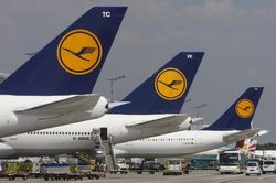 Туристам и бизнесменам: в пятницу Lufthansa вновь будет бастовать