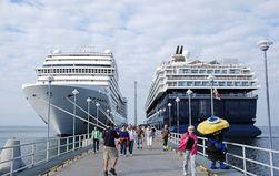 Новый круизный причал в порту Таллина появится осенью 2013 года