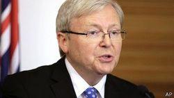 В Австралии смена премьер-министра – Кевин Радд заменит Гиллард
