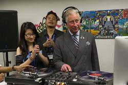 63-х летний принц Чарльз решил встать за диджейский пульт