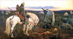 В. Васнецов «Витязь на распутье»