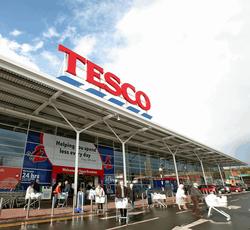 На 3,8 процентов нарастила свои рождественские продажи Tesco PLC
