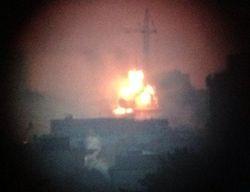 1500 квадратных метров охвачено огнем в Технологическом институте Петербурга