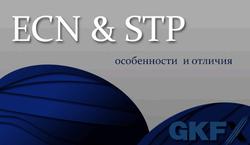 GKFX: что такое ECN и STP и чем они отличаются?