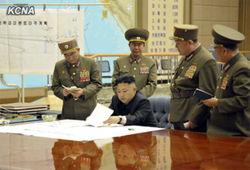 Лидер КНДР утвердил план ракетного удара по США