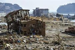 Япония, землетрясение