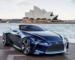Инвесторам: Lexus представил самого мощного гибрида LF-LC Blue