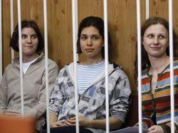 Pussy Riot обвиняют Путина в строгости их наказания