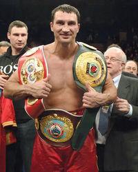Владимиру Кличко удалось защитить все свои титулы среди