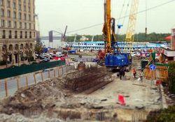 Реконструкция Почтовой площади в Киеве затягивается – нет средств