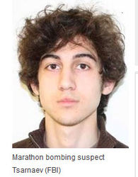 Спецоперация по поиску подозреваемого в бостонских взрывах продолжается