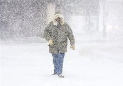 Нынешний снегопад в Украине побил вековой рекорд