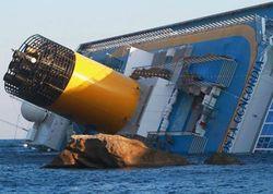 """Экипаж Costa Concordia получил премию """"Мореплаватель года"""" за смелость"""