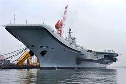 Первый авианосец Китая как символ новой морской доктрины Пекина