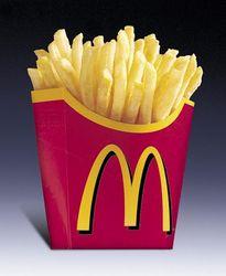 На олимпийских объектах действует запрет на продажу картофеля фри?