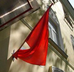В День Победы на Тернопольщине запрещено вывешивать красные флаги