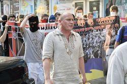 В столице Украины произошла стычка между русскими и украинскими националистами