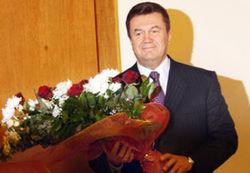 День рождения Януковича начинают праздновать с сегодняшнего дня
