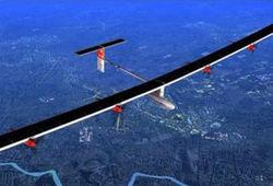 Самолет на солнечных батареях пересек Средиземное море