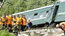 Эксперты назвали причину крушения пассажирского поезда на Кубани
