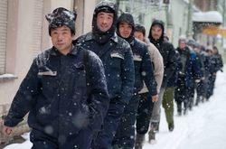 """Полиция Москвы снова провела рейд в """"городе бытовок"""" - 952 задержанных"""