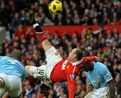 Топ видео YouTube: 3 самых красивых гола футбола 2012