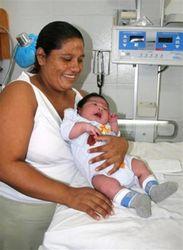 Рекорд достойный Книги Гиннеса: младенец-гигант родился в Мексике