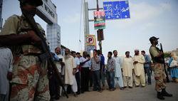 Избирательные участки в Пакистане работают с 7:00 по Москве