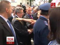 Молодчик, бросивший в президента Польши яйцо, – пророссийский активист