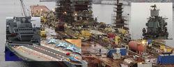 Главкомат ВМФ утвердил проект крупнейшего эсминца и гордости России