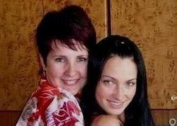 Евгения Феофилактова и ее мама