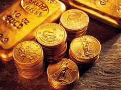 Падают продажи золотых монет и слитков
