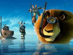 Мультфильм «Мадагаскар 3» собрал по Северной Америке 60 миллионов за выходные