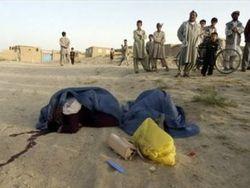 Талибы расстреляли женщину, которую не поделили