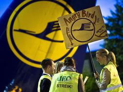 За забастовку бортпроводников Lufthansa расплачиваются пассажиры