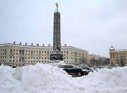 Зимний «конец света» в Минске