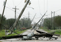 Ураган на Украине грозит миллионными убытками