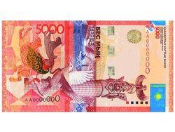 Тенге продолжил укрепление к фунту, канадскому доллару и евро
