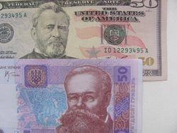 Курс гривны несколько укрепился к евро и фунту стерлингов