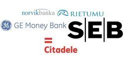 Названы самые популярные в Интернете банки Латвии