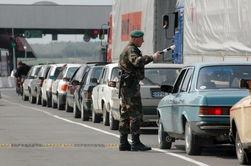 На белорусско-украинской границе небывалая очередь из автомобилей