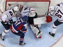 Сборная США по хоккею потерпела первое поражение на чемпионате мира
