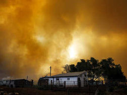В США эвакуируют людей из-за лесных пожаров
