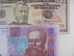 Курс гривны несколько укрепился к евро, швейцарскому франку и фунту стерлингов