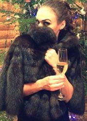 Алена Водонаева похвасталась шубой из соболя