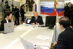 """Кремль: дата """"прямой линии"""" с Путиным назначена"""