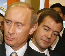 СМИ: Путин срочно избавляется от президентского наследия Медведева