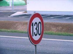 На платных дорогах разрешат ехать со скоростью 130 км/час