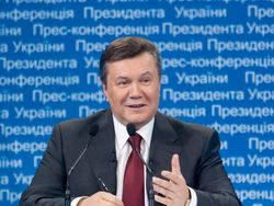 Ровно год Виктор Янукович не проводит пресс-конференции