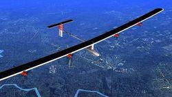Самолет на солнечных батареях без подсадок пересечет США с запада на восток
